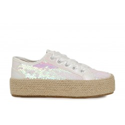 Sneakers in paillettes su...