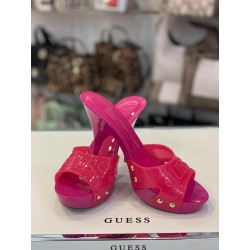 Zoccolo Guess Pink