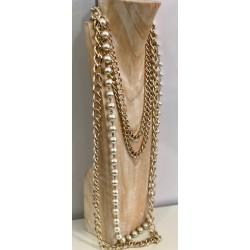 Collana Perle e catene