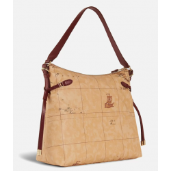 Soft Wood Hobo bag Bordeaux