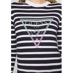 Maglia Guess white/blue navy