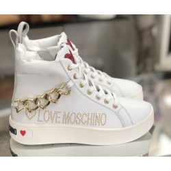 SNEAKERS ALTE LOVE MOSCHINO