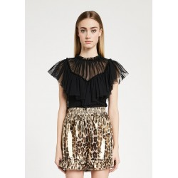 Top con tulle