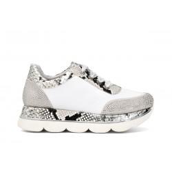 Sneakers in pelle con...