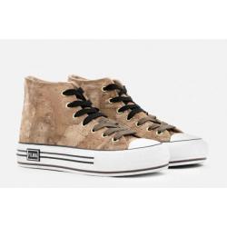Sneakers alte in nabuk...