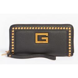 Maxi portafoglio bling borchie